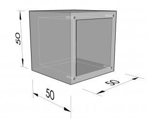 Cellule quadrangulaire 50 plane