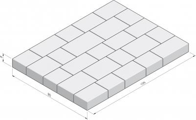 Basic La Strada appreillage en paquet 80x109